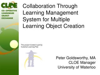 Collaboration Through Learning Management System for Multiple Learning Object Creation