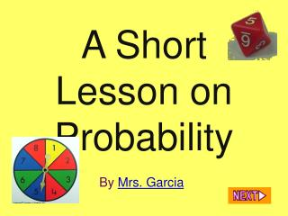 A Short Lesson on Probability