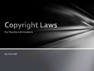 Copyright Laws For Teachers & Students