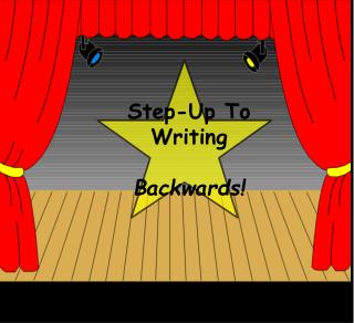 Step-Up To Writing  Backwards