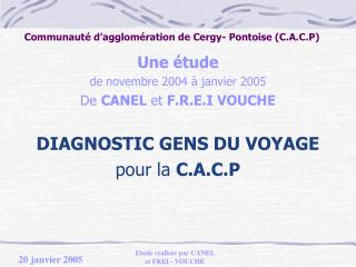 Communaut  d agglom ration de Cergy- Pontoise C.A.C.P