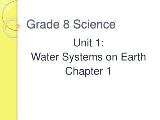 Grade 8 Science
