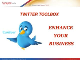 Twitter Tools & Applications