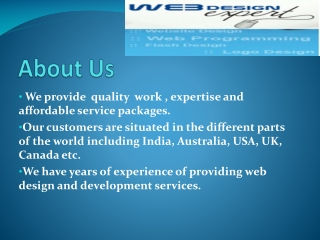 Quality Business Web Design