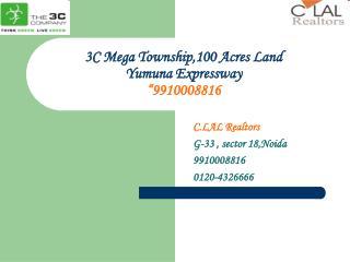 3C plot@9910008812 Yamuna Expressway