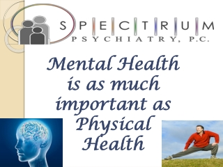 Treatment for mental illness