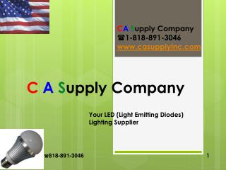 C A Supply Company