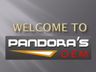 Pandoras OEM -The Solution For Appliance Repair Parts
