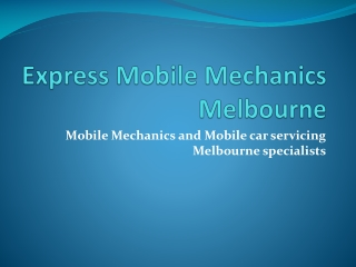 Express Mobile Mechanics - airconditioning