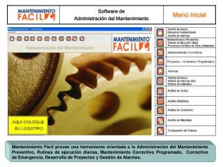 Mantenimiento F cil provee una herramienta orientada a la Administraci n del Mantenimiento Preventivo, Rutinas de ejecuc