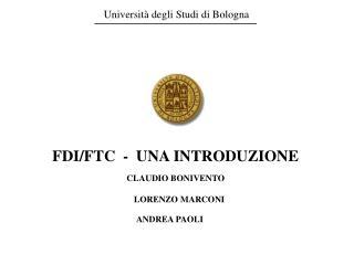 Universit  degli Studi di Bologna