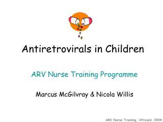 Antiretrovirals in Children