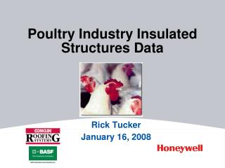 Poultry Industry Insulated Structures Data