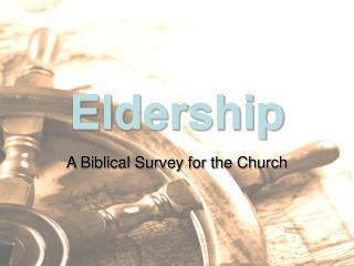 Eldership