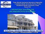 stav klinick  biochemie laboratorn  diagnostiky 1.L karsk  fakulta University Karlovy, Praha V eobecn  fakultn  nemocni