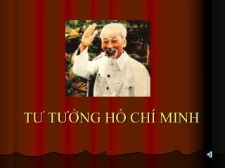 TU TUNG H CH  MINH