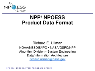NPOESS Products