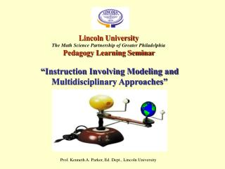 Instruction Involving Modeling and Multidisciplinary Approaches