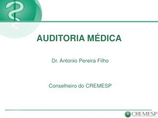 AUDITORIA M DICA