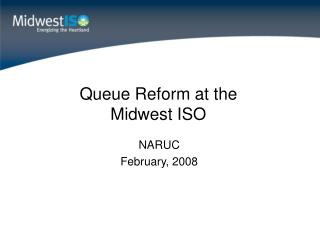Queue Reform at the Midwest ISO