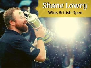 Shane Lowry Wins 2019 British Open