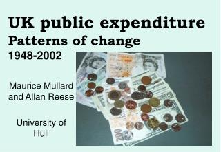 UK public expenditure  Patterns of change 1948-2002