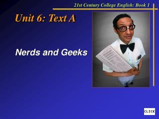 Unit 6: Text A