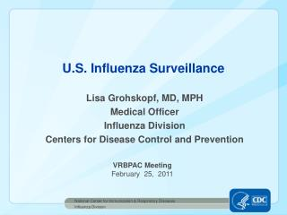 U.S. Influenza Surveillance