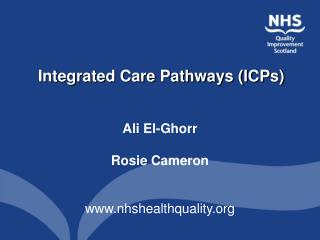 Integrated Care Pathways ICPs