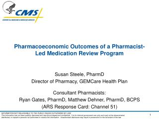 Pharmacoeconomic Outcomes of a Pharmacist-Led Medication Review Program