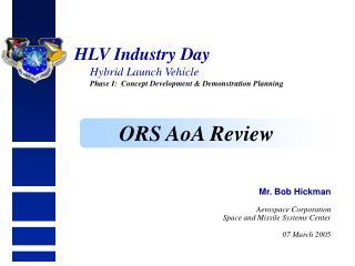 HLV Industry Day