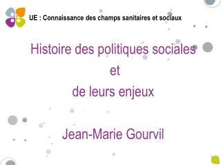 UE : Connaissance des champs sanitaires et sociaux