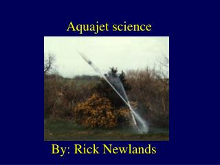 Aquajet science