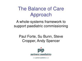 The Balance of Care Approach