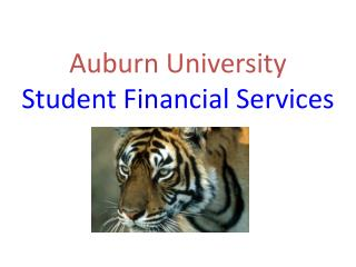 Auburn University Student Financial Services