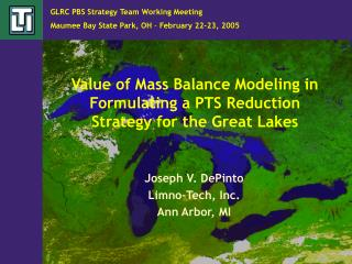 Value of Mass Balance Modeling in Formulating a PTS Reduction Strategy for the Great Lakes