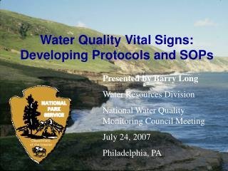 Water Quality Protocols and SOPs - Good Examples