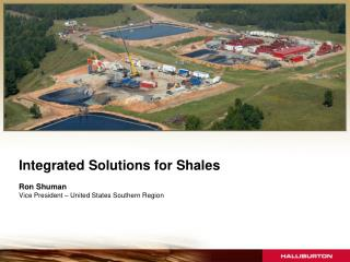 Integrated Solutions for Shales