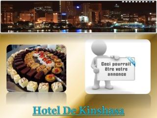 Hotel De Kinshasa