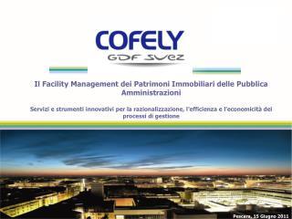 Il Facility Management dei Patrimoni Immobiliari delle Pubblica Amministrazioni  Servizi e strumenti innovativi per la r