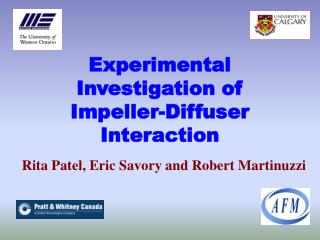Experimental Investigation of Impeller-Diffuser Interaction