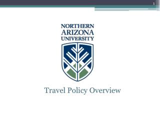 Travel Policy Overview