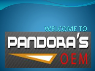 Pandoras OEM - The Ultimate Online Store for Home Appliance