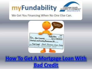 Small Business Loan Bad Credit