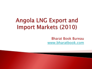 Angola LNG Export and Import Markets (2010)
