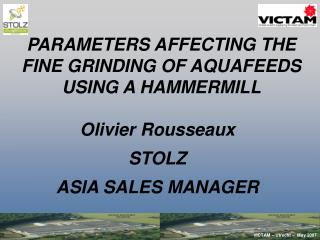 Olivier Rousseaux  STOLZ  ASIA SALES MANAGER