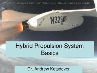 Hybrid Propulsion System Basics