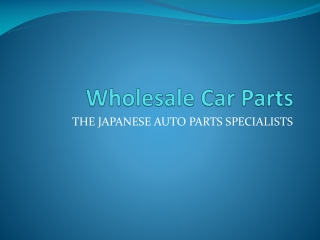 Wholesale Car Parts - mazda engines
