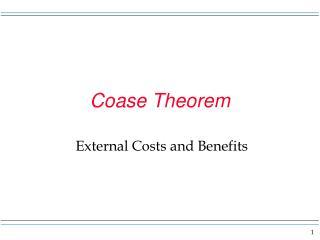 Coase Theorem