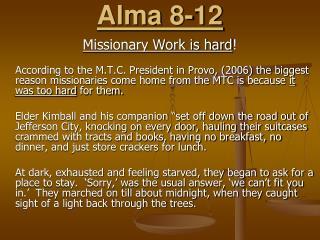 Alma 8-12